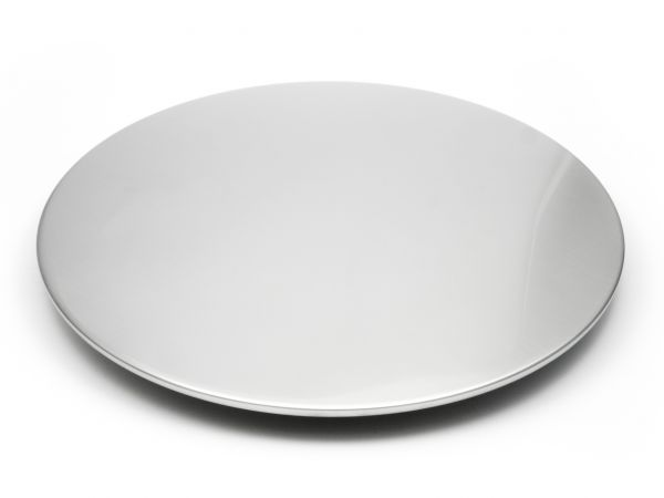 Tortenplatte Edelstahl